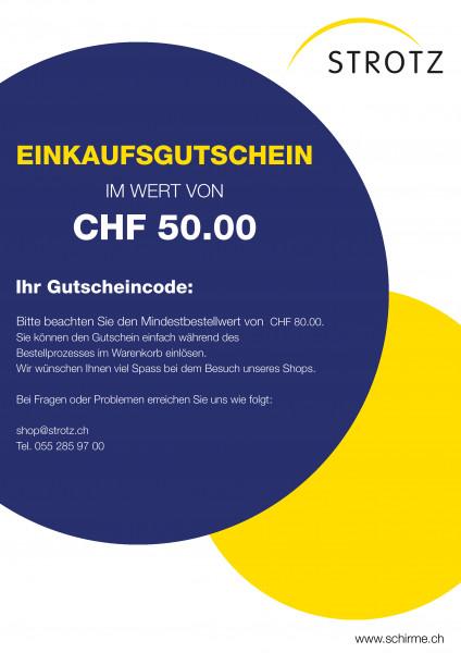 Strotz Gutschein 50