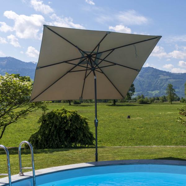 Sonnenschirm Quadro 250 x 250 cm
