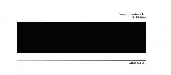 Futteral 20.5 cm schwarz